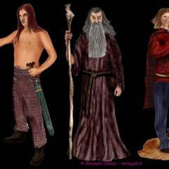 Recherches personnages