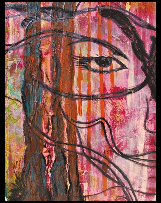 Peinture L'Eveil