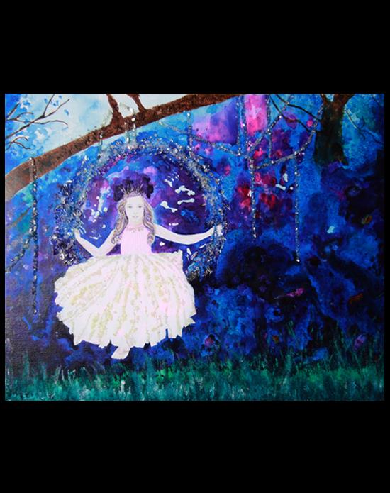 Peinture Princess Of Stones