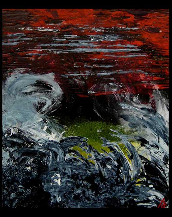 Peinture Tempest